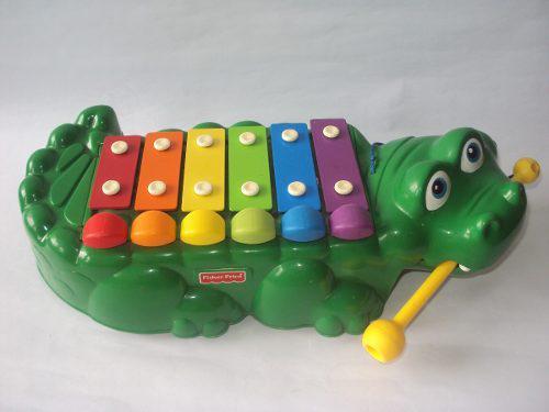 Juguete bebe niño xilofono piano caiman fisher price