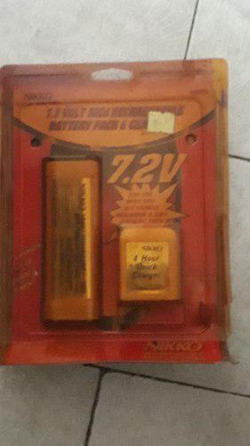 Bateria nikko 7.2v nueva (25.usd)