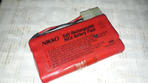 Bateria Nikko 9.5v Nueva Sin Cargador (15.usd)