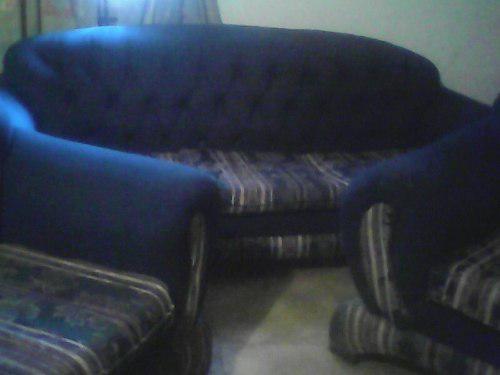 Muebles de tela usados.