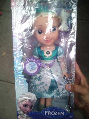 Muñeca frozen que canta oríginal