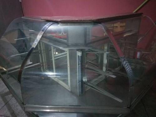 Vitrina Vidrio Curvo