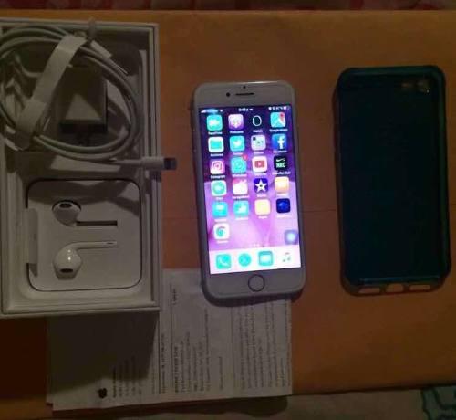 Iphone 7, silver, 32gb como nuevo liberado de fábrica