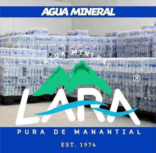 Agua mineral lara pura de manantial todas las presentaciones