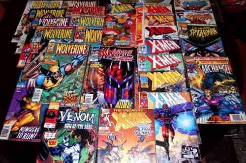 Comics marvel antiguos variados (leer descripción)