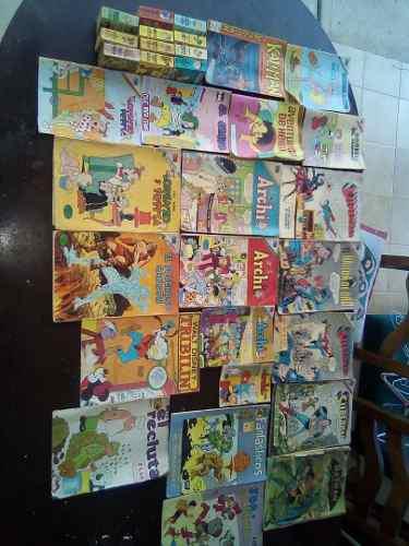 Historietas de coleccion archie,superman,batman
