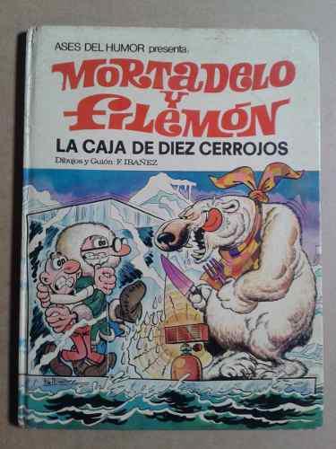 Mortadelo Y Filemon La Caja De Diez Cerrojos