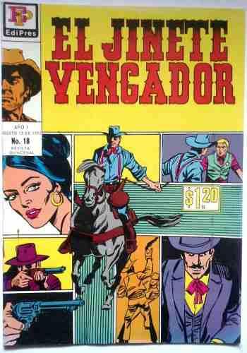 Oferta Suplemento El Jinete Vengador N° 18 Agosto 15 1972