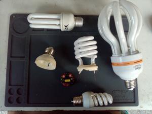 Reparacion de bombillos electronicos ahorradores y led