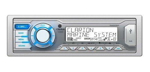 Reproductor clarion usb aux/in atv polaris marino