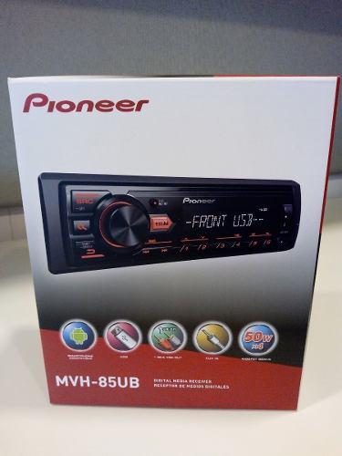 Reproductor Pionner Usb Auxiliar Mp3 Wma Wav Radio