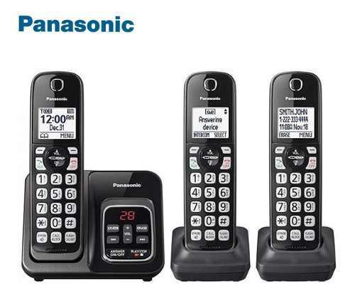 Telefono inalambrico panasonic 3 auriculares original