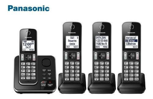 Telefono inalambrico panasonic 4 auriculares original