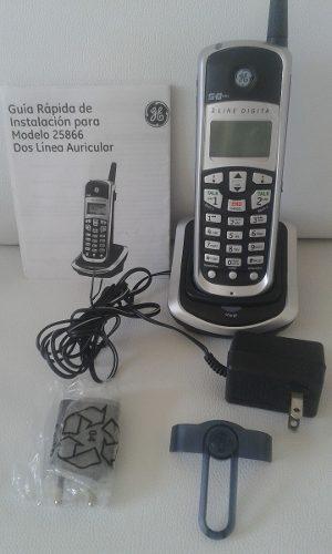 Teléfono auxiliar inalámbrico g.e. 5.8ghz.