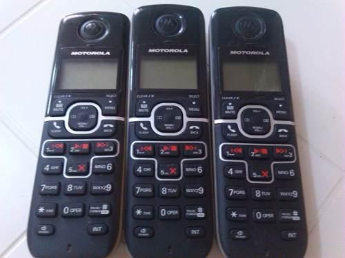 Teléfono inalambrico motorola l703, tienda, oficina,