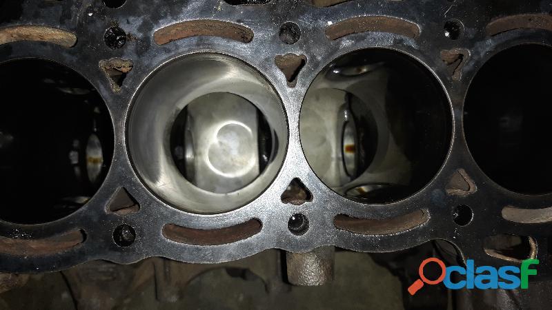 Block motor terios 1.3 estándar listo para armar con sus pistones sin bielas