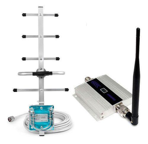 Amplificador de señal celular digitel 3g gsm 900mhz + yagi