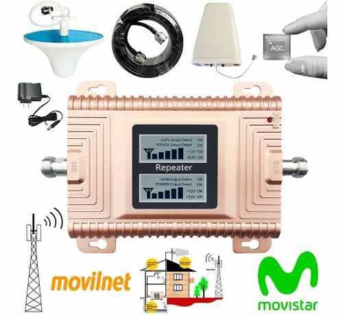 Amplificador de señal celular movistar y movilnet 2g 3g