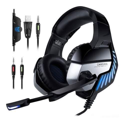 Audifonos gamers para xbox pc y ps4 aislamiento de ruido