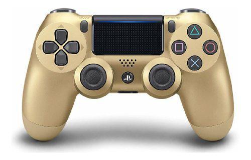 Control playstation 4 ps4 nuevo sellado original dorado 50v