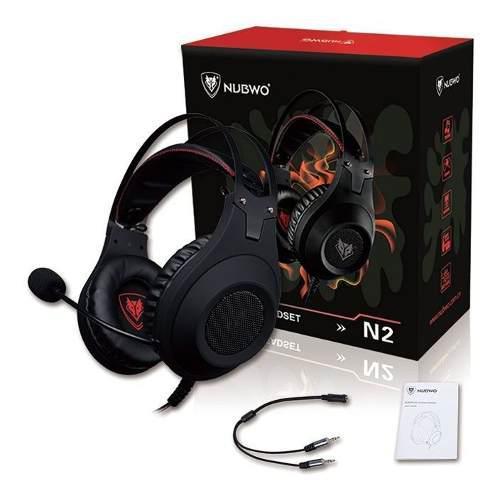 Nubwo n2 audífonos gaming para xbox one ps4 nintendo switch