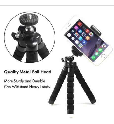Trípode Celular iPhone Android Vertical/horizontal 10usa