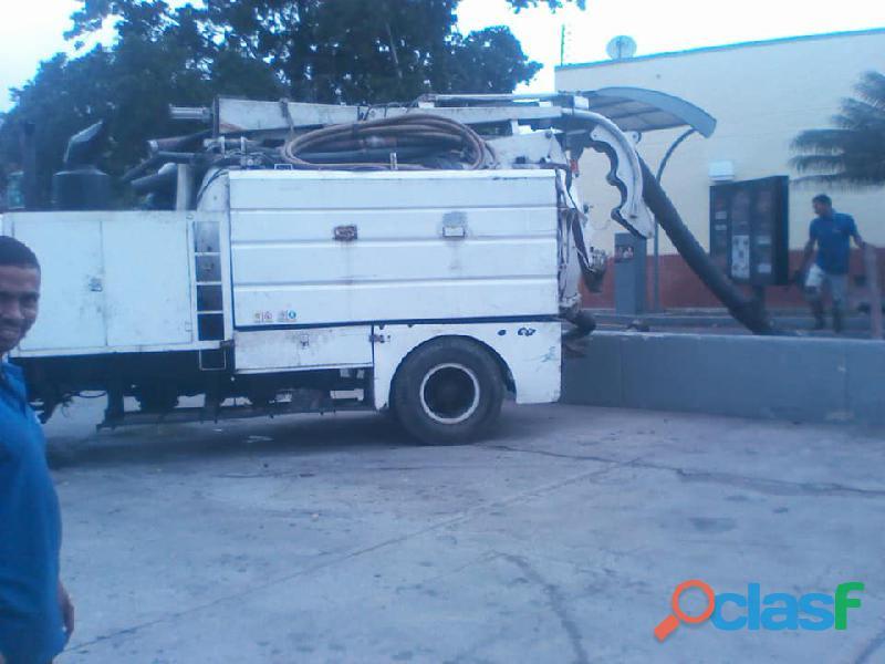 Alquiler de camion vacumm maracay 04127451794