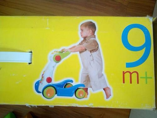 Andadera caminadora chicco