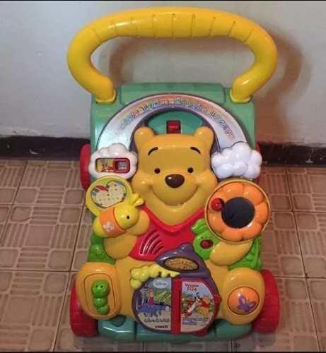 Caminadora vtech winnie pooh bebes