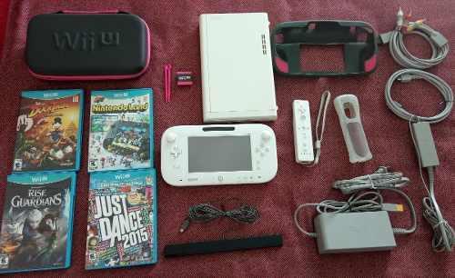 Nintendo Wii U Poco Uso Excelentes Condiciones