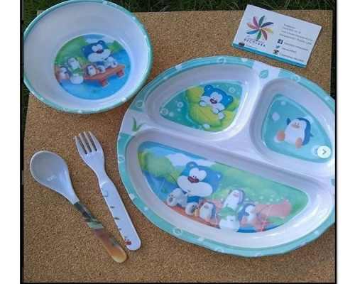 Vajilla para bebe / plato para bebe / platos de bebe
