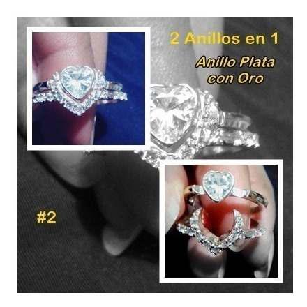 Zarcillos18k.pulsera de medios pla. anillos compromiso plata