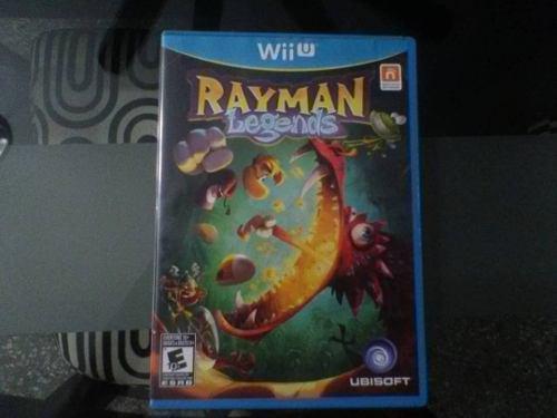 Juego original wii u usado rayman legends