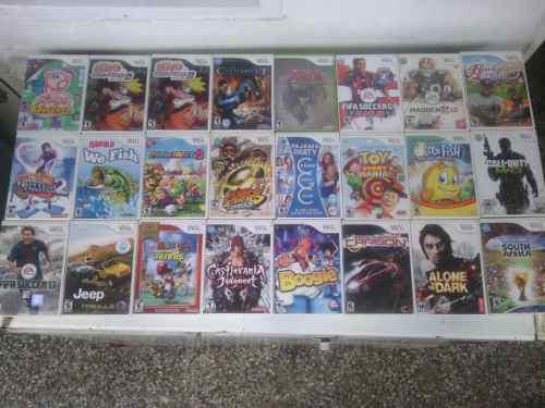 Juegos originales nintendo wii solo venta somos tienda