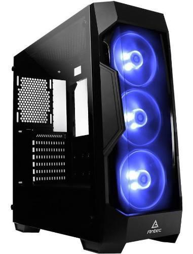 Chasis pc gaming case antec phantom df500 rgb 3 fan incluido