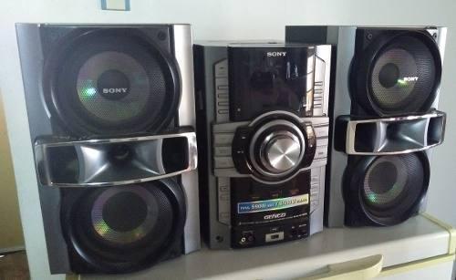 Equipo sonido sony en perfecto estado mod genezi-590w/6500w