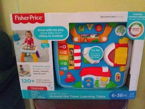 Juguete fisher price mesa de aprendizaje interactiva