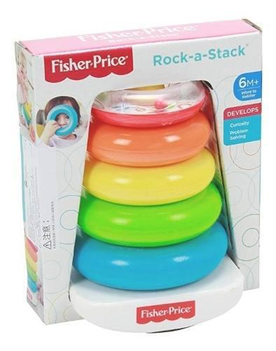 Juguete Para Bebés Fisher Price Original Rock-a-stack