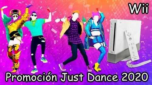 Nintendo wii 250gb+promo just dance 2020+20 juegos a elegir
