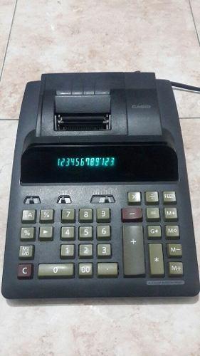 Sumadora casio dr-120vlb y calculadora casio dx-120v