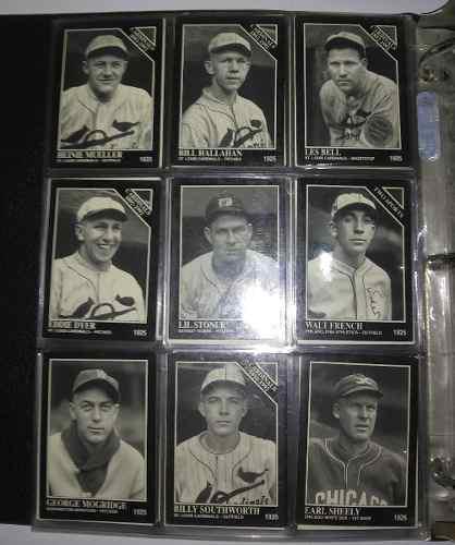Lbum de coleccion de barajitas de baseball (grandes ligas)