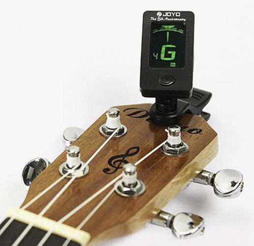 Afinador de tono guitarra violín bajo cuatro nuevo 10