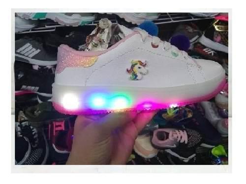 Botas de led luces para niñas ponny princesas