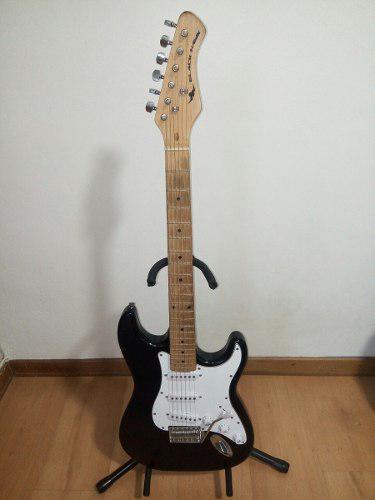 Guitarra eléctrica. black hawk. buen precio