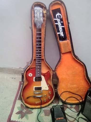 Guitarra eléctrica epiphone les paul 100+ amplificador