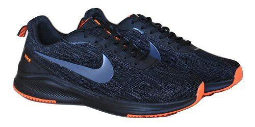 Kp3 zapatos caballeros nike air zoom negro naranja 44-46,5