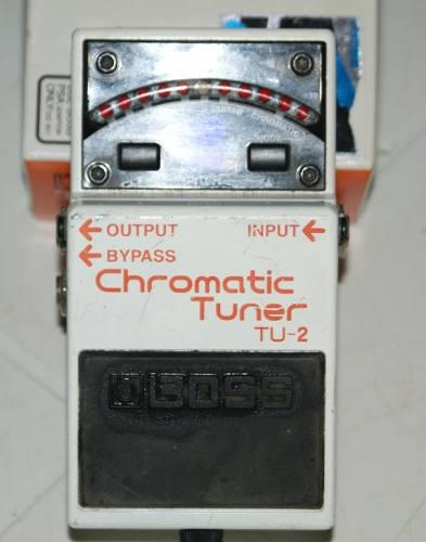 Pedal boss tu2 chromatic tuner remate remate