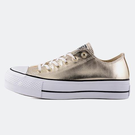 Zapatos converse dorados originales