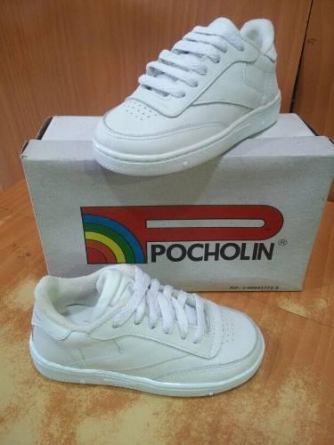Zapatos deportivos escolares pocholin originales