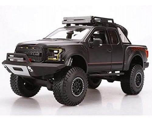 Ford raptor pickup off road kings negro mate maisto